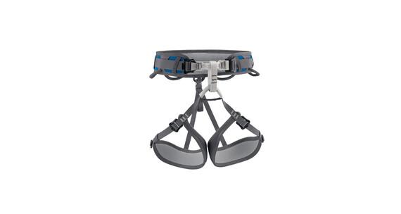 Petzl Corax - Arnés de escalada - XS-L gris/azul